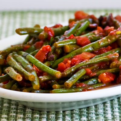 Braised Fresh Green Beans