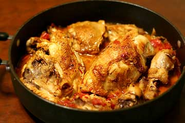 Braised Hunter Style Chicken
