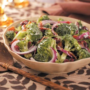 Broccoli & Cranberry Salad