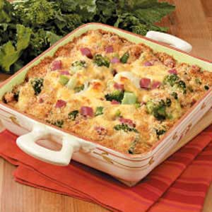 Broccoli Cauliflower Bake