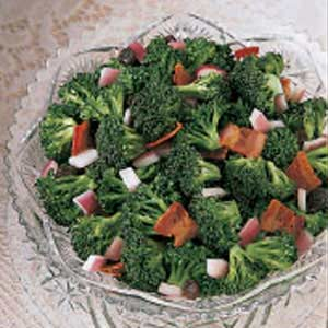 Broccoli with Bacon