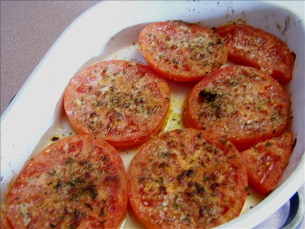Broiled Tomato Slices With Herbes De Provence