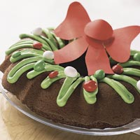 Brownie Wreath