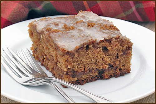 Butterscotch Spice Cake