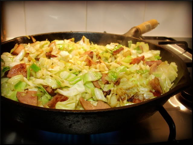 Cabbage With Polish Sausage