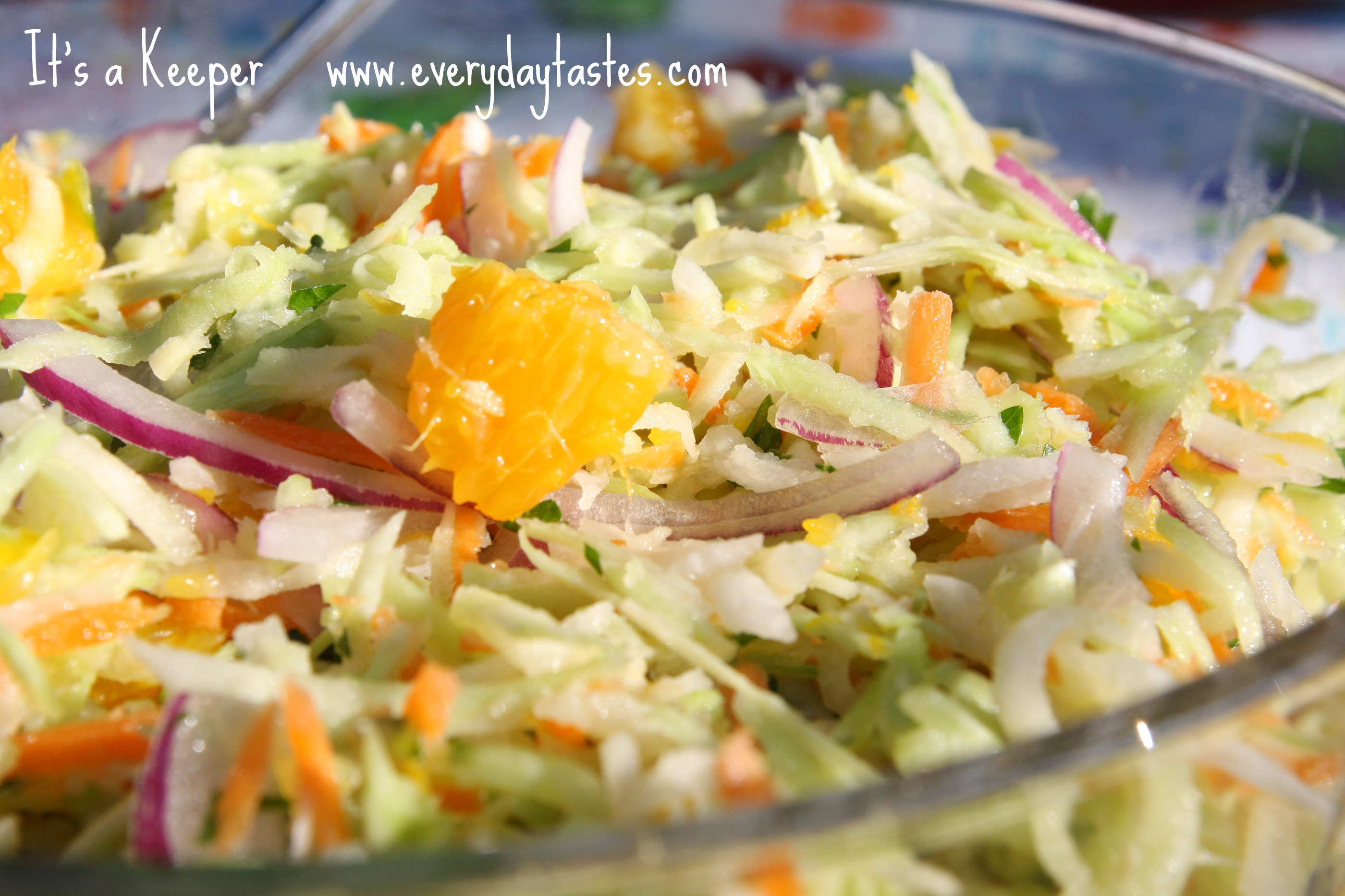 California Citrus Broccoli Slaw