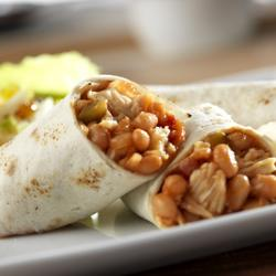 Campbell's® Chicken and Bean Burritos