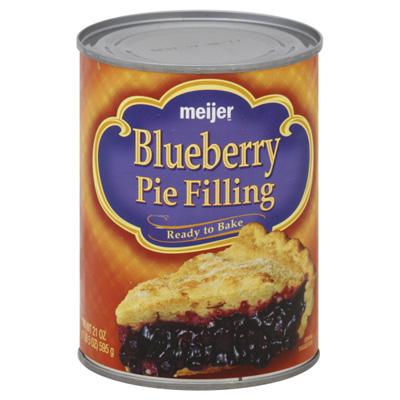 Canned Blueberry Pie Filling