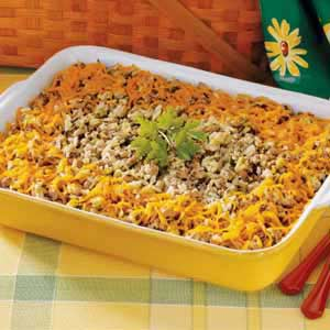 Casserole With Black-Eyed Peas