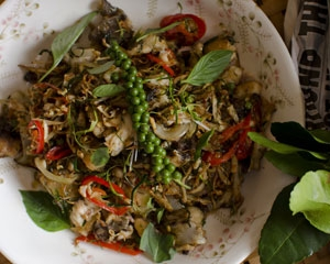 Catfish Stir-fry