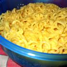 Cheesy Ramen Noodles