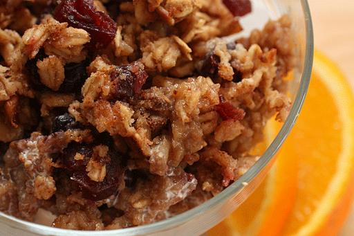 Cherry Berry Oatmeal