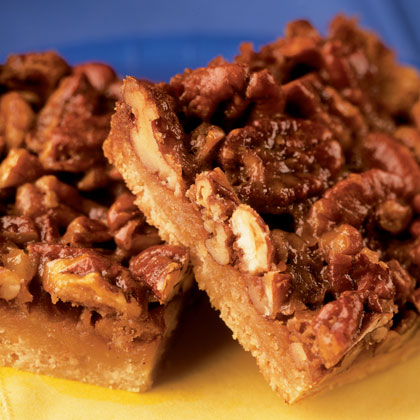 Chewy Pecan Bars