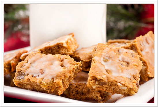 Chewy Spice Bars