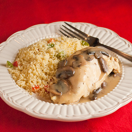 Chicken & Mushrooms Dijon