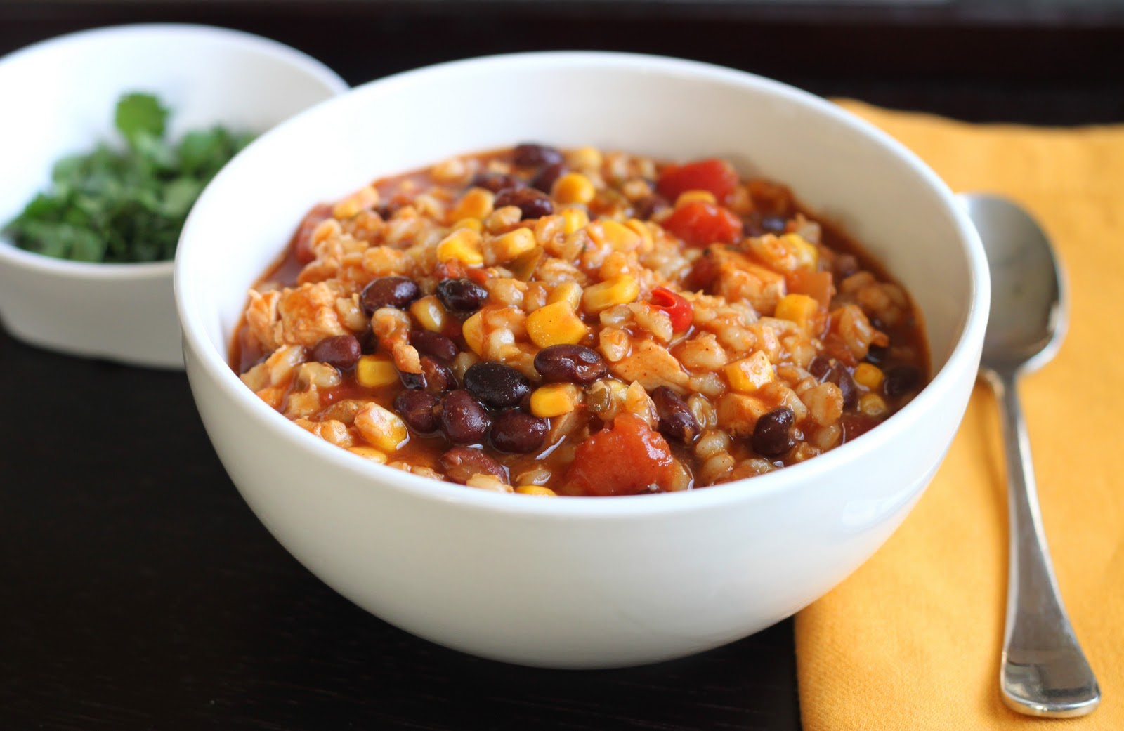 Chicken and Barley Chili
