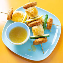 Chicken and Biscuit Kabobs