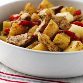 Chicken and Potato Stir-Fry