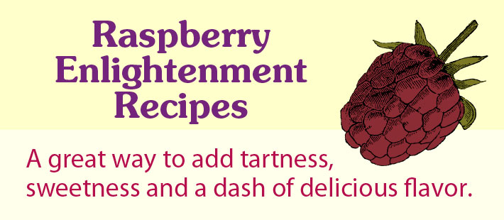 Chicken and Veggies With Raspberry Enlightenment