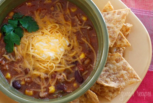 Chicken Chili Taco Stew