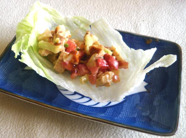 Chicken Fajita Lettuce Cups (Hungry Girl) - Ww Points = 4