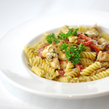 Chicken Fusilli Toss