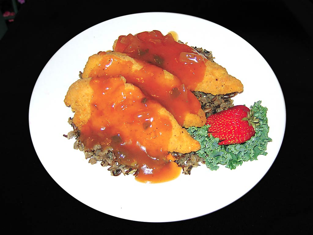 Chicken Strips with Sweet and Sour Sauce