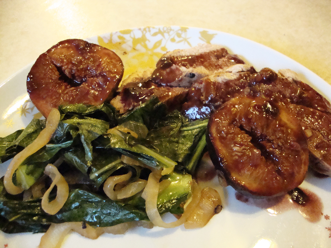 Chicken with Figs in a Port Wine Sauce