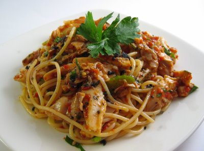 Chicken With Roasted Red Pepper Sauce