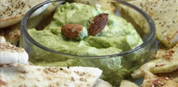 Chickpea and Roasted Nut Dip