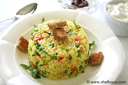 Chickpeas and Rice