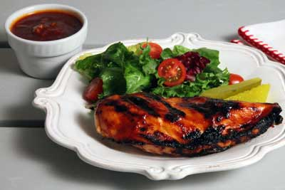 Chili Pepper Honey Barbecue Sauce