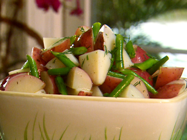 Chilled Green Bean and Red Potato Salad