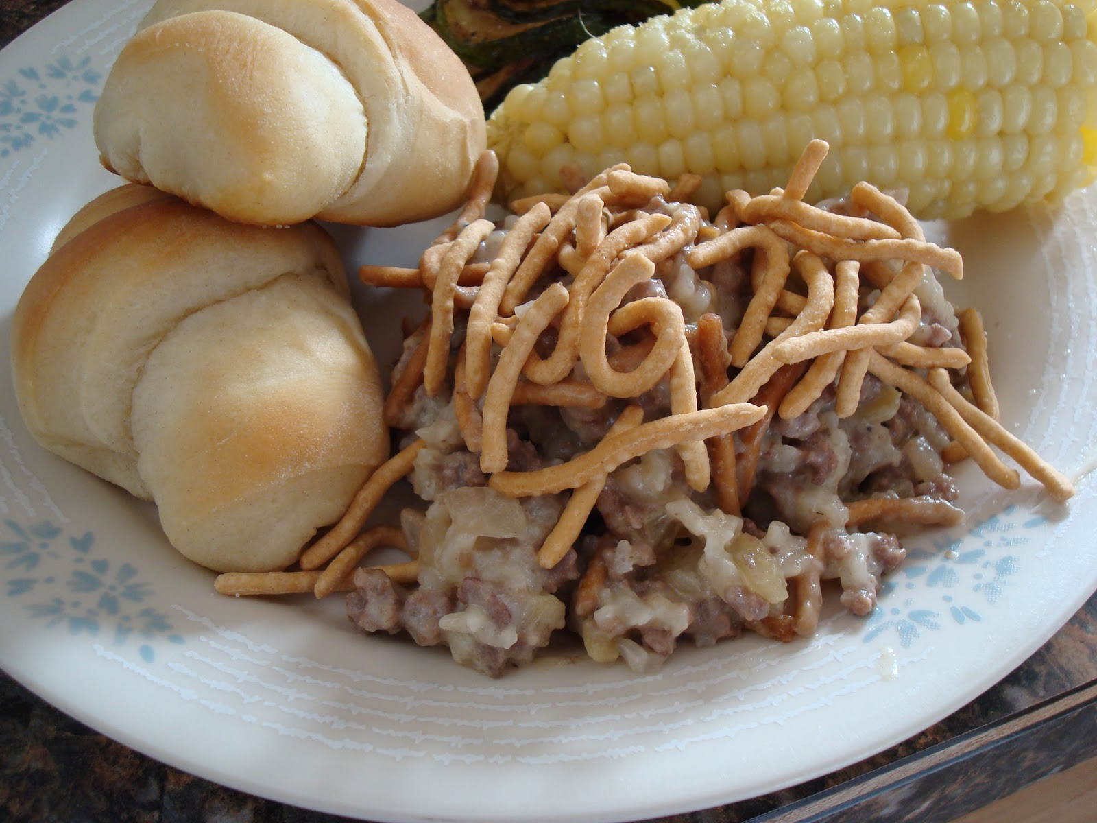 Chinese Hamburger Casserole