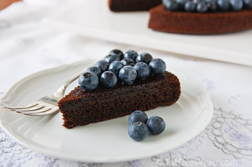 Chocolate Blueberry Cake