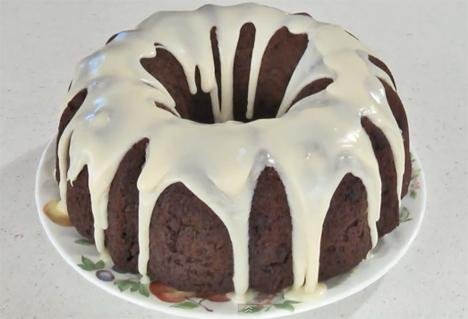 Chocolate Chip Bundt Cake with Chocolate Glaze