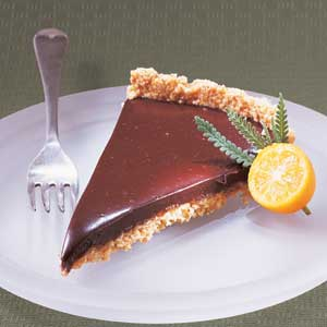 Chocolate-Grand Mariner Tart