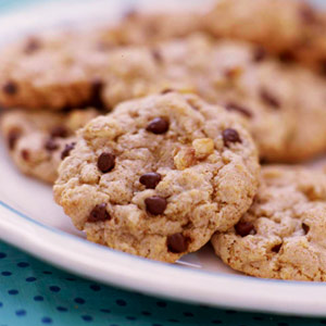 Chocolate Oat Bran Cookies With Chocolate Chips