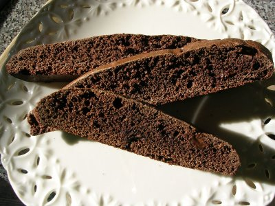 Chocolate-Orange Biscotti