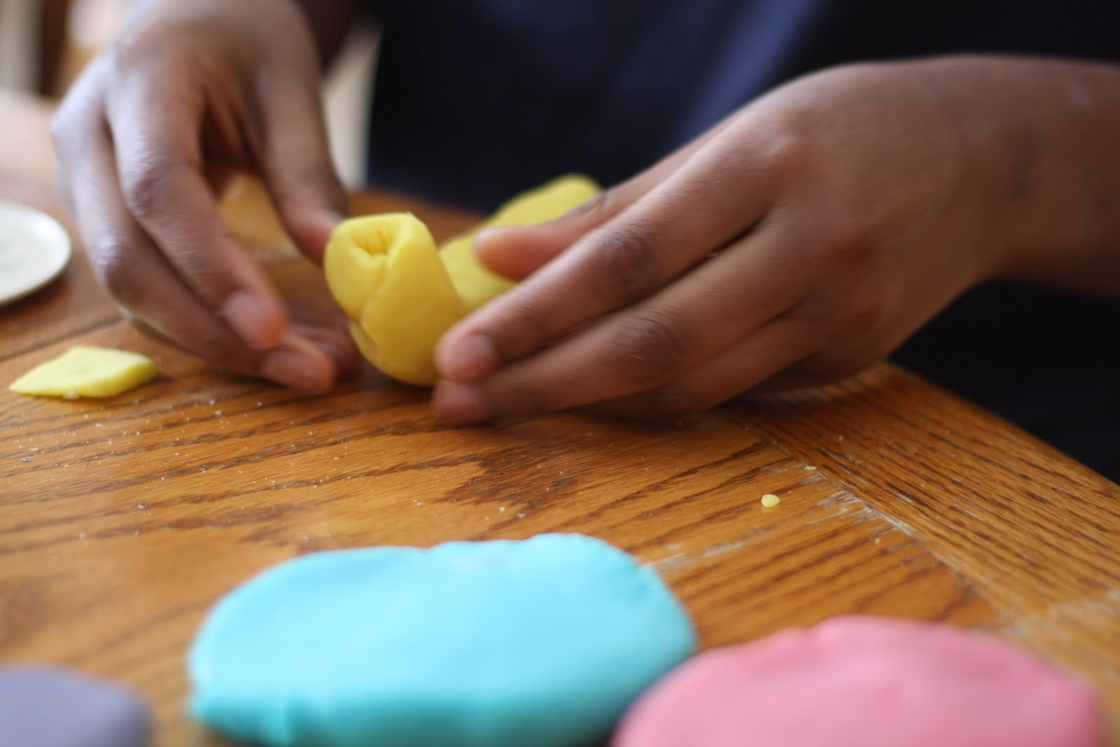 Chocolate-Scented Play Dough (Non-Edible)