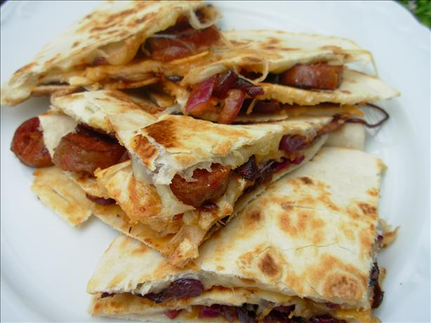Chorizo and Manchego Cheese Quesadillas