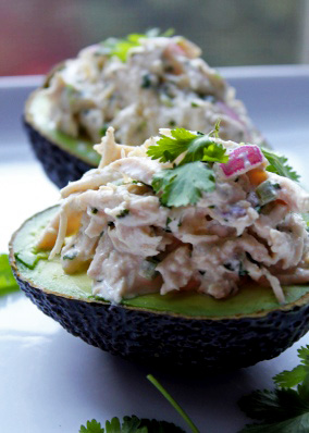 Cilantro-Lime Chicken Salad