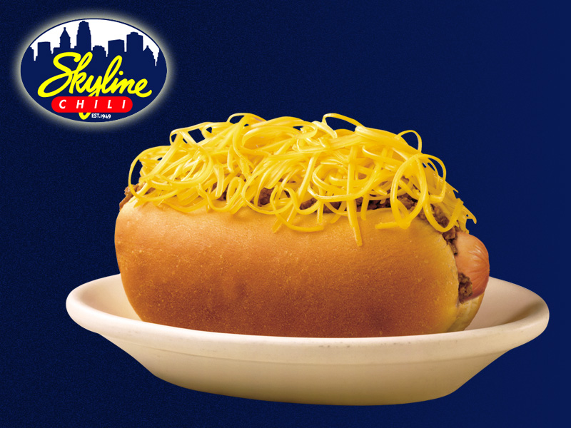 Cincinnati Chili-Cheese Coney