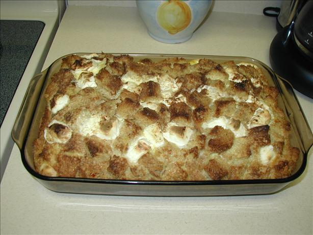 Cinnamon Bread Morning Casserole