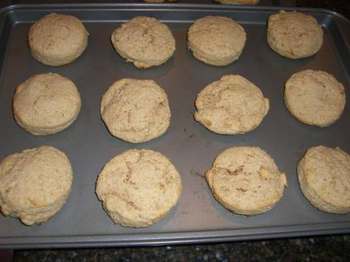 Cinnamon Sour Cream Biscuits