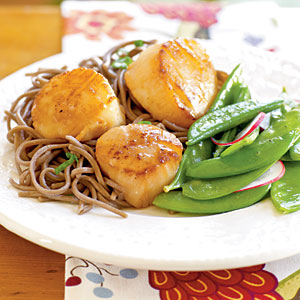 Citrus Scallops II