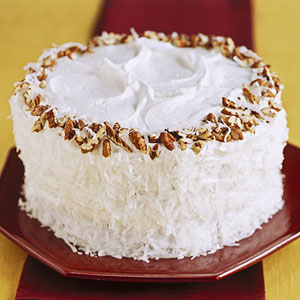 Coconut-Pecan Angel Food Cake - Recipegreat.com