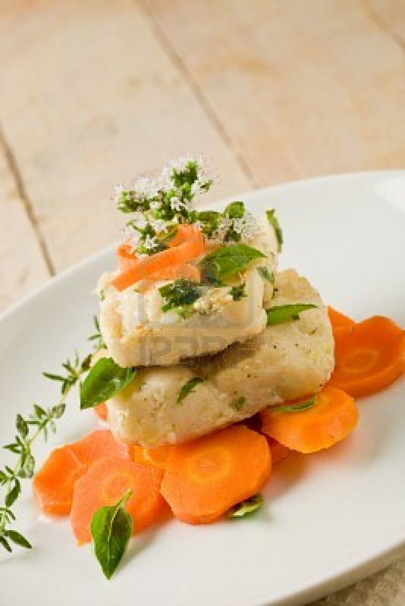Cod With Oregano