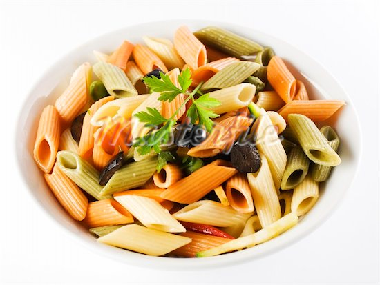 Colorful Pasta Lunch