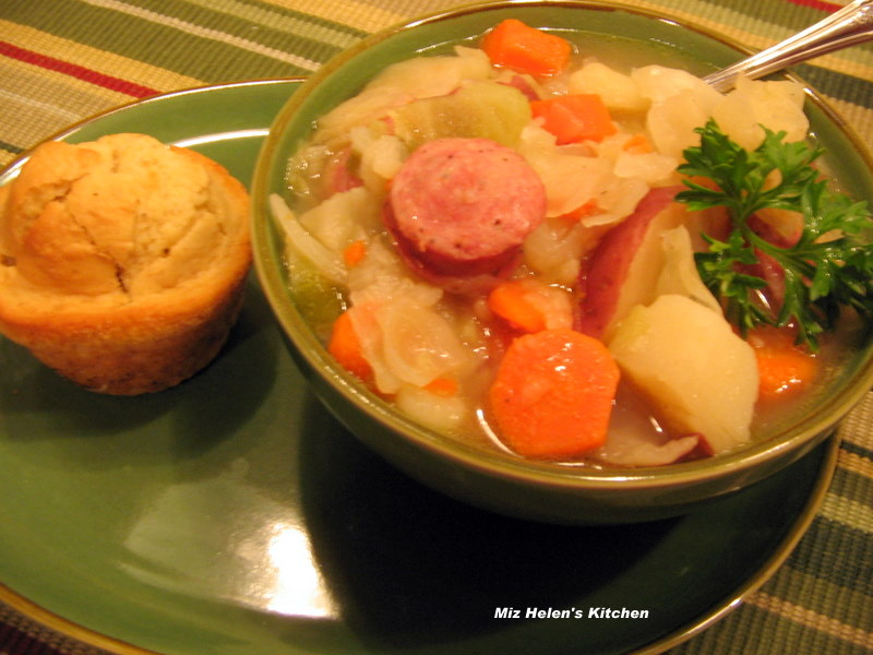 Comforting Cabbage and Sausage Casserole
